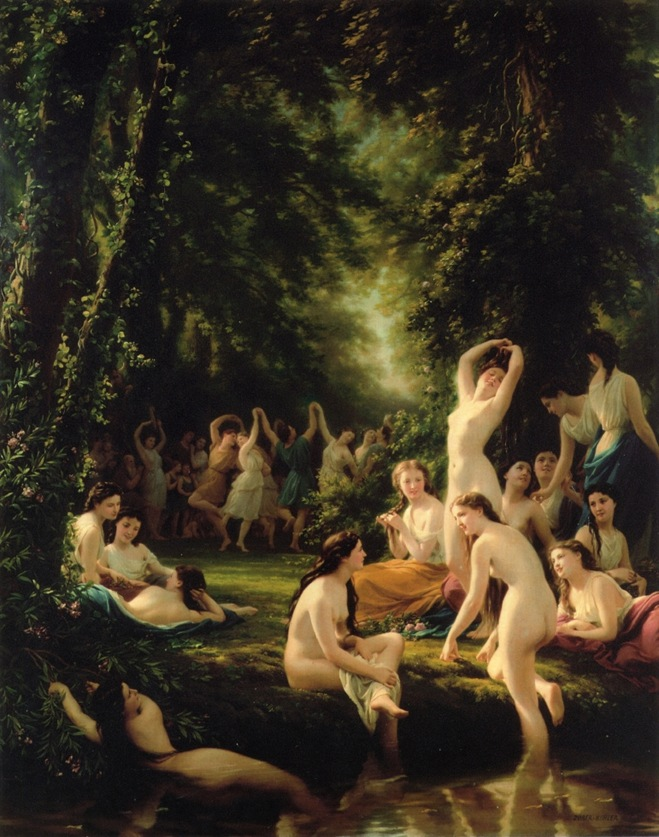 Fritz-Zuber-Buhler-xx-La-Reine-Bacchanal-xx-Private-Collection